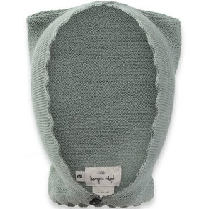 organic cat helmet storm grey konges slojd