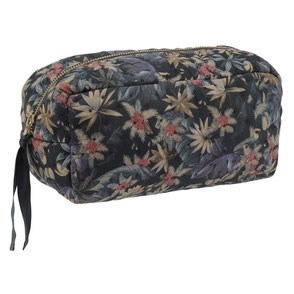 konges slojd organic cotton quilted toiletry bag
