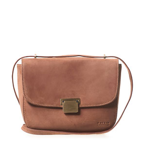 Oh My Bag the Meghan Camel Hunter eco leather