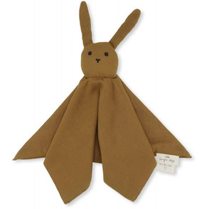 Konges Slojd organic cotton snuggle toy baby Sleepy Rabbit