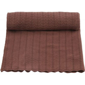 organic blanket pointelle deux konges slojd