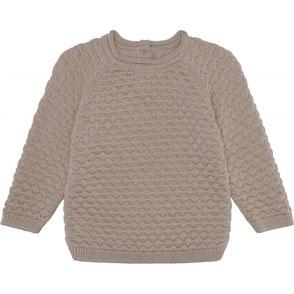 organic cotton bubble knit cardigan konges sloj