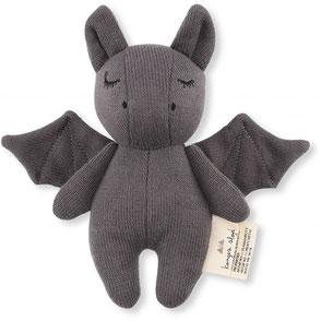 organic cotton baby toy bat konges slojd