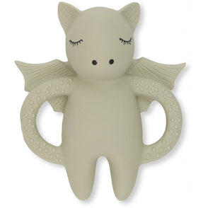 Konges slojd teeth soother bat natural rubber eco