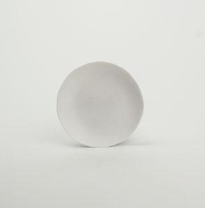 Kajsa Cramer handmade saucer white