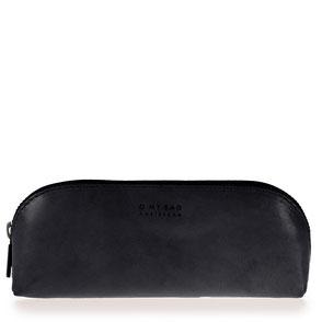O My Bag eco leather pencil case black