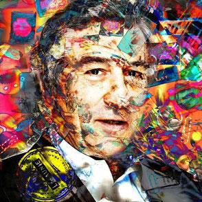 Robert De Niro, Robert De Niro art, portrait Robert De Niro, Robert De Niro portrait, Robert De Niro acteur, Robert De Niro Pop Art, Robert De Niro Peinture, Robert De Niro oeuvre d'art , artiste français  contemporain, artiste Moa Daliendog