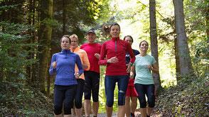 Running im Wald
