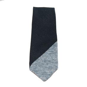 Blauwe stropdas inzetstuk Senor Guapo