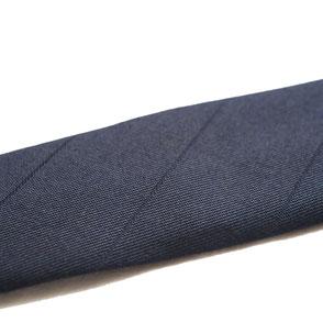 Smalle stropdas Senor Guapo aubergine paars modern