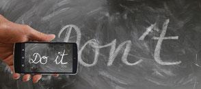 Do it, nicht ist unmöglich, Pädagogik, Pädagogen Blog, Blog für Erzieher, Hilfe für Eltern, Eltern Helfer