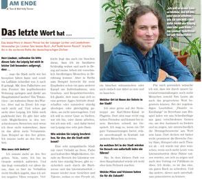 Interview mit Jan Lindner im Frizz Leipzig