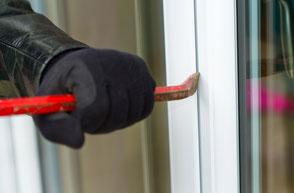 Fenster und Türen mit Einbruchschutz