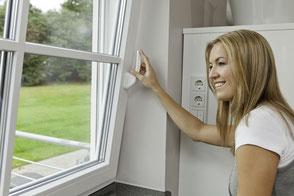 Fenster vom Schreiner mit Einbruchschutz und Wärmedämmung