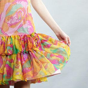 Über 1800 Haute Couture Teile aus Schweizer Stoffen befinden sich in der SWISS TEXTILE COLLECTION