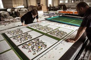Layered - Siebdruck Ausstellung, Textildruckerei Arbon