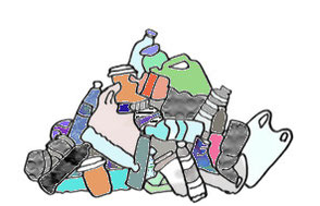 Abfall Müllberg