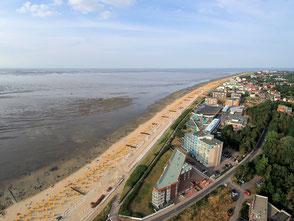 Luftbild von Cuxhaven