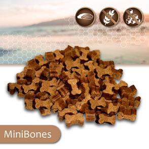 KAP-Snacks kaltgepresste Hundesnacks MiniBones, ohne Zucker, getreidefrei