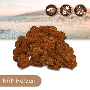 KAP-Snacks kaltgepresste Hundesnacks Herzen