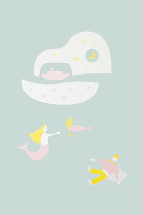 人魚姫のモビール