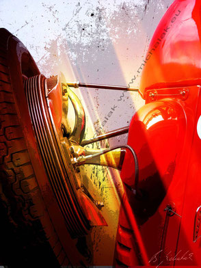 Maserati 4CLT drum brake