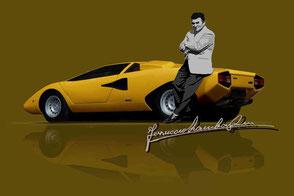 Ferrucio meets Lamborghini