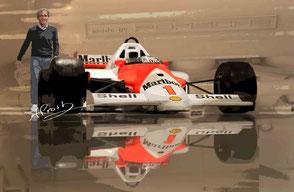 Alain Prost meets Porsche