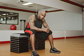 Workout mit dem Step