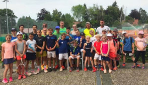 sunshinetennis, Kinder Training