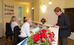Informationen zur Zahnarztpraxis  Dr. Frank Reidegeld