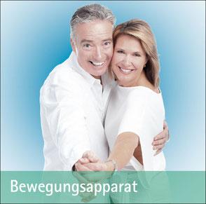 Älteres Ehepaar beim Tanzen - Zum Thema Bewegungsapparat
