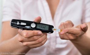 Blutzucker-Messung: Diabetes als Risikofaktor