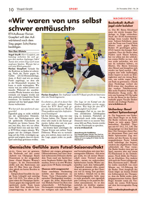 Zeitung Vogel Gryff 24/2016