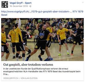 Vogel Gryff