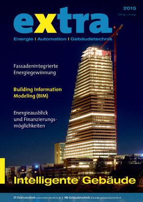 Titelseite HK-Gebäudetechnik Extra
