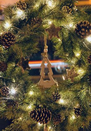 Weihnachtsdekoration Kranz