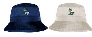 growapair bucket ht sun proection safari hat