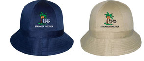 growapair aussie tennis hat bucket hat