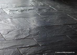 Bodenplatten aus Naturschiefer