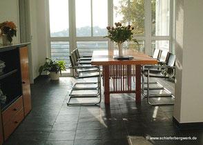 Küchenboden Schiefer