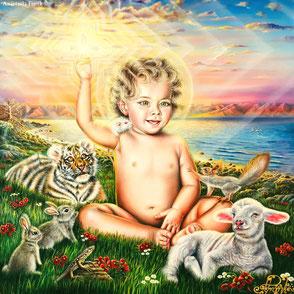 """""""JESUS CHRIST - THE LIGHT BEARER"""" - €3.800 EUR"""