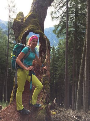 Cathrin Hörnig in Osttirol