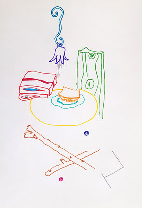 Malerei auf Papier, Airbrushfarben