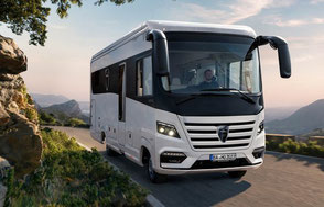 Morelo Home,  Wohnmobil mieten, Luxus Reisemobil mieten