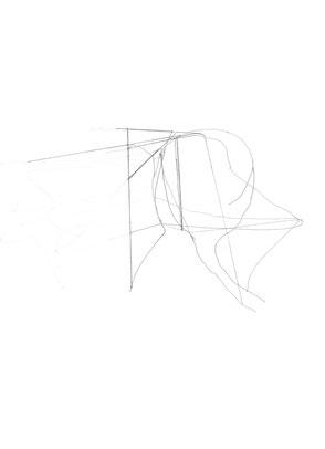 Heiner Blumenthal l Untitled l 2008 l 29,7 x 21 cm pencil drawing on paper