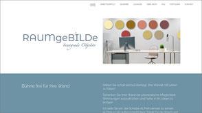 Foto der Homepage von Beate Gehrke