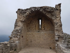 Chapel of Saint Jordi, the highest point of the castle