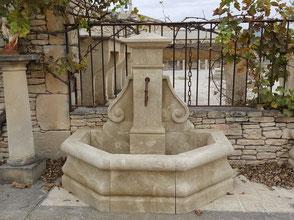 Naturstein Gartenbrunnn aus Provence