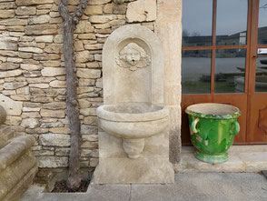 Gartenbrunnen klein aus Südfrankreich